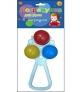 Погремушка для рук с шариками